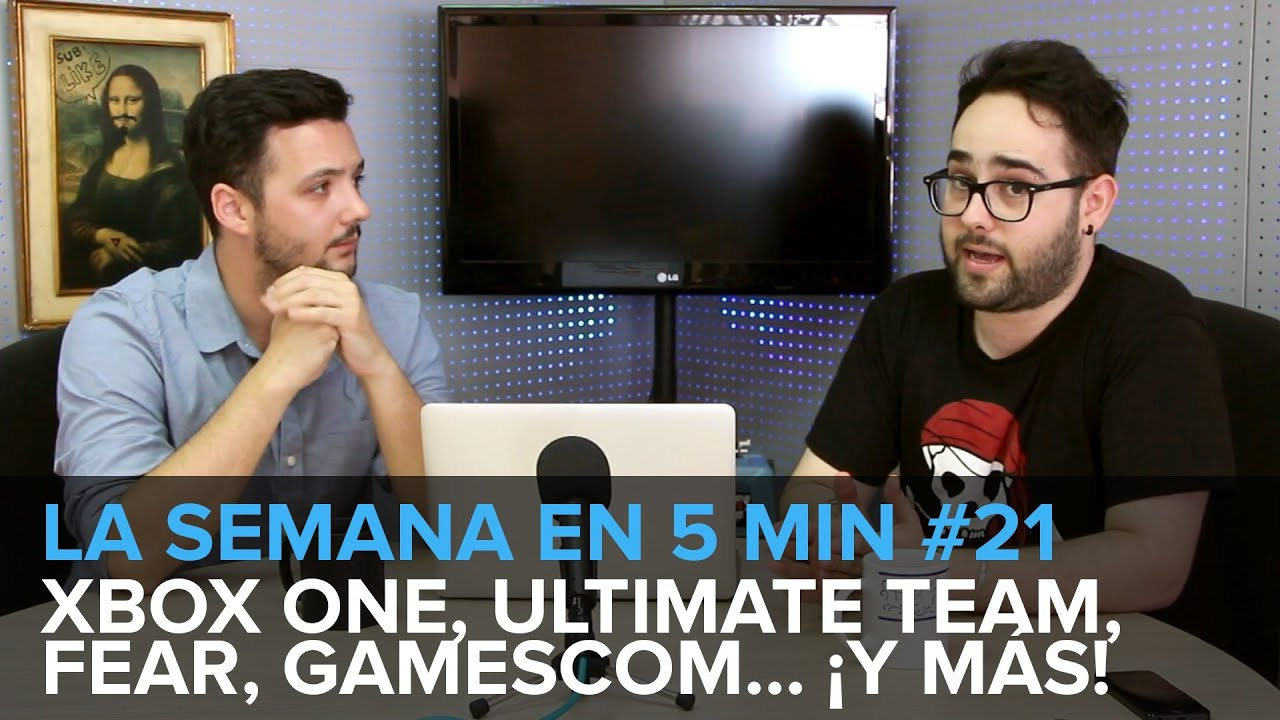 ¡LA SEMANA EN 5min #21! Xbox One, Gamescom, FEAR... ¡y más! [19-26 julio]