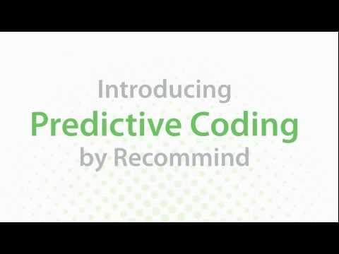 Predictive Coding for eDiscovery