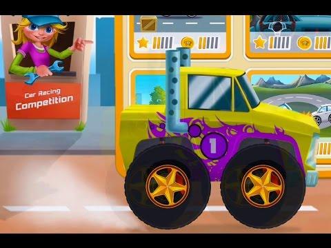 Мультфильмы на Русском Безумные Тачки Монстер Трак Машинки Видео для Детей Осень 2016