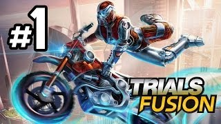Trials Fusion Walkthrough Part 1 - NEXT GEN TRIALS - Let's Play Playthrough