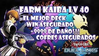 como farmear a kaiba lv40 9999 7 o 8 cofres yugioh duel links