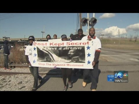 Dr. Martin Luther King Jr. march in Newport News
