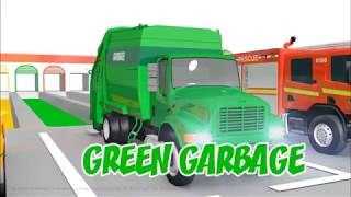 Video for Toddlers- Learn Shapes with Garage Cars- Police Cartoon for Kids