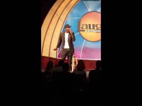 Michael Batman Rhodes At The Long Beach Laugh Factory