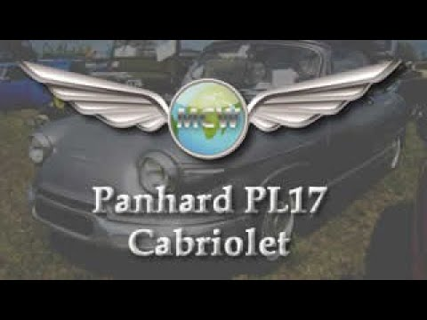 Exceptionnel Panhard PL17 Cabriolet - YouTube ZS71