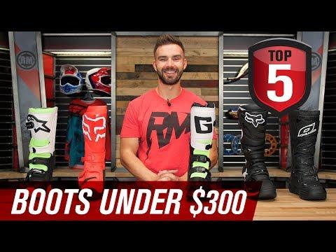 Top 5 Motocross Boots Under $300