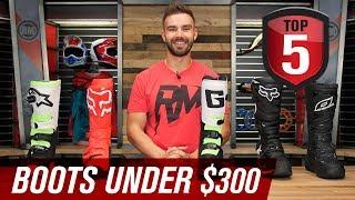 Top 5 Motocross Boots Under 300