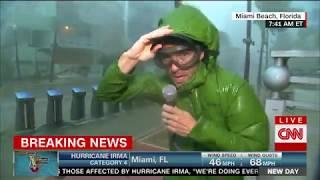 Reporter: Wind speeds like jet engines