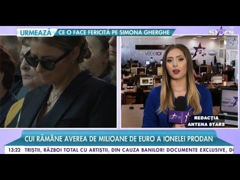 Răsturnare de situație! Cui rămâne averea de milioane de euro a Ionelei Prodan