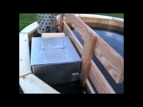 internal hot tub stove youtube. Black Bedroom Furniture Sets. Home Design Ideas