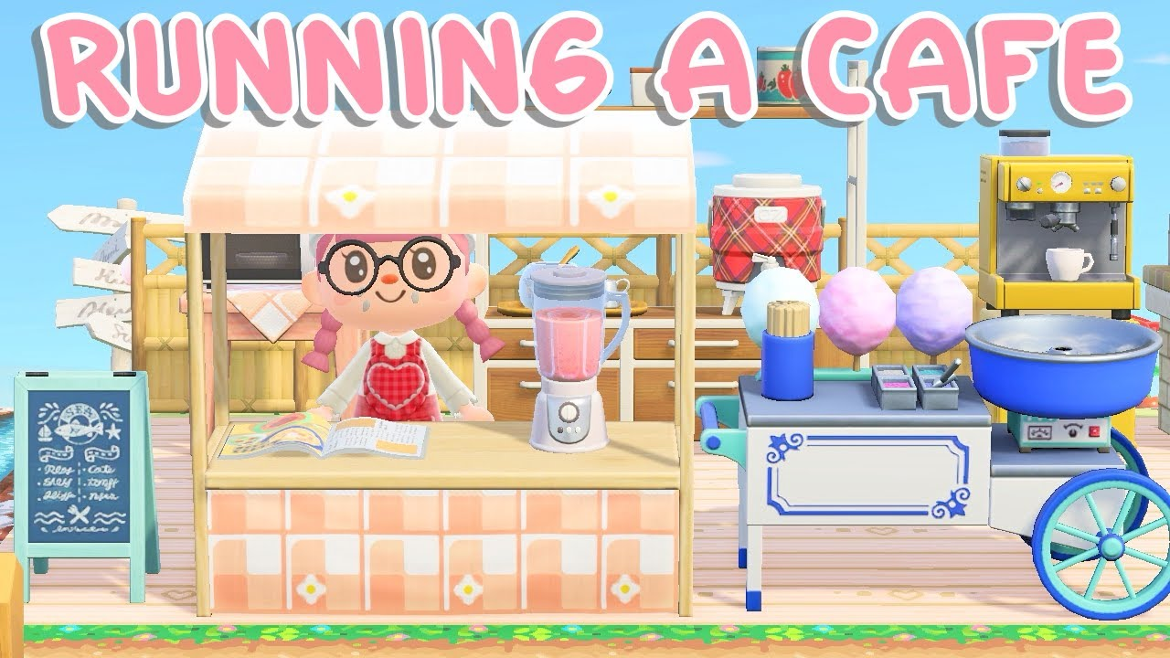 Opening My Cafe Animal Crossing New Horizons Youtube
