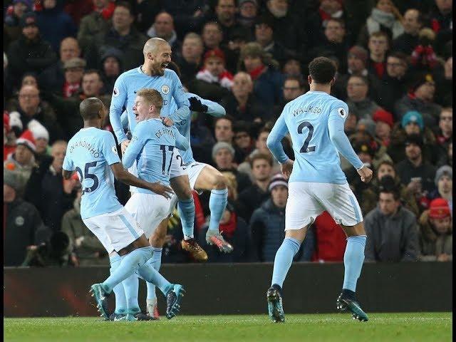Gol de David Silva - Manchester United 1 x 2 Manchester City - Narração de Fausto Favara
