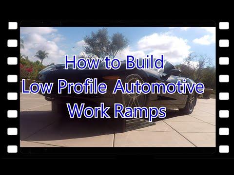 DIY Low Profile Automotive Ramps!