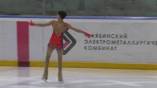 Первенство Челябинской области 2 спортивный девушки Короткая программа 10 Таисия ЛАНСКИХ ПШМ