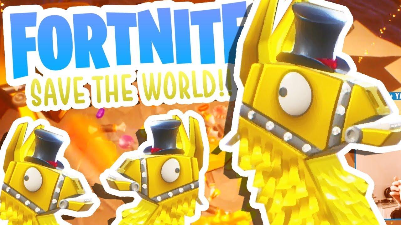Mythic Loot Llama Fortnite Save The World 3 Youtube