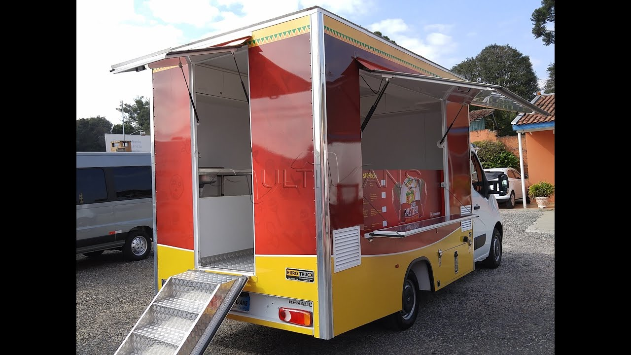 renault master food truck 2016 vans zero km usadas e. Black Bedroom Furniture Sets. Home Design Ideas