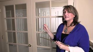 How To Convert Regular Curtains To French Door Curtains : Making/modifying Curtains