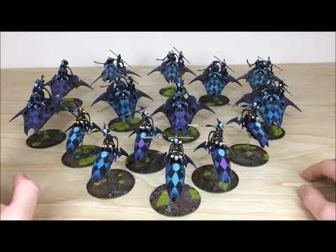 Tabletop Tactics Harlequin Army Commission Update - Siege Studios