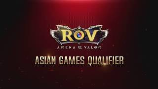 RoV Asian Games Qualifier EP5 China vs Chinese Taipei