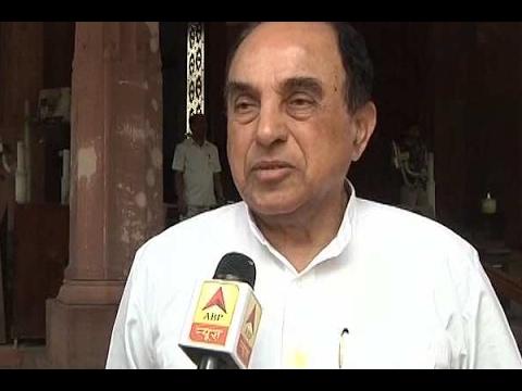Subramanian Swamy slams Digvijaya Singh's remark on Muslims