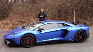 Video Here's Why the Lamborghini Aventador SV Is Worth $500,000 download MP3, 3GP, MP4, WEBM, AVI, FLV Juni 2018