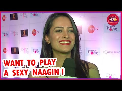 Anita Hassanandani Reddy Wants To Be A SEXY Naagin | Exclusive Interview