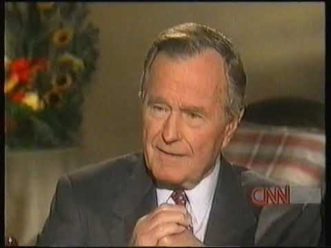 President George Bush on Larry King 11-2-1999 Full Hour
