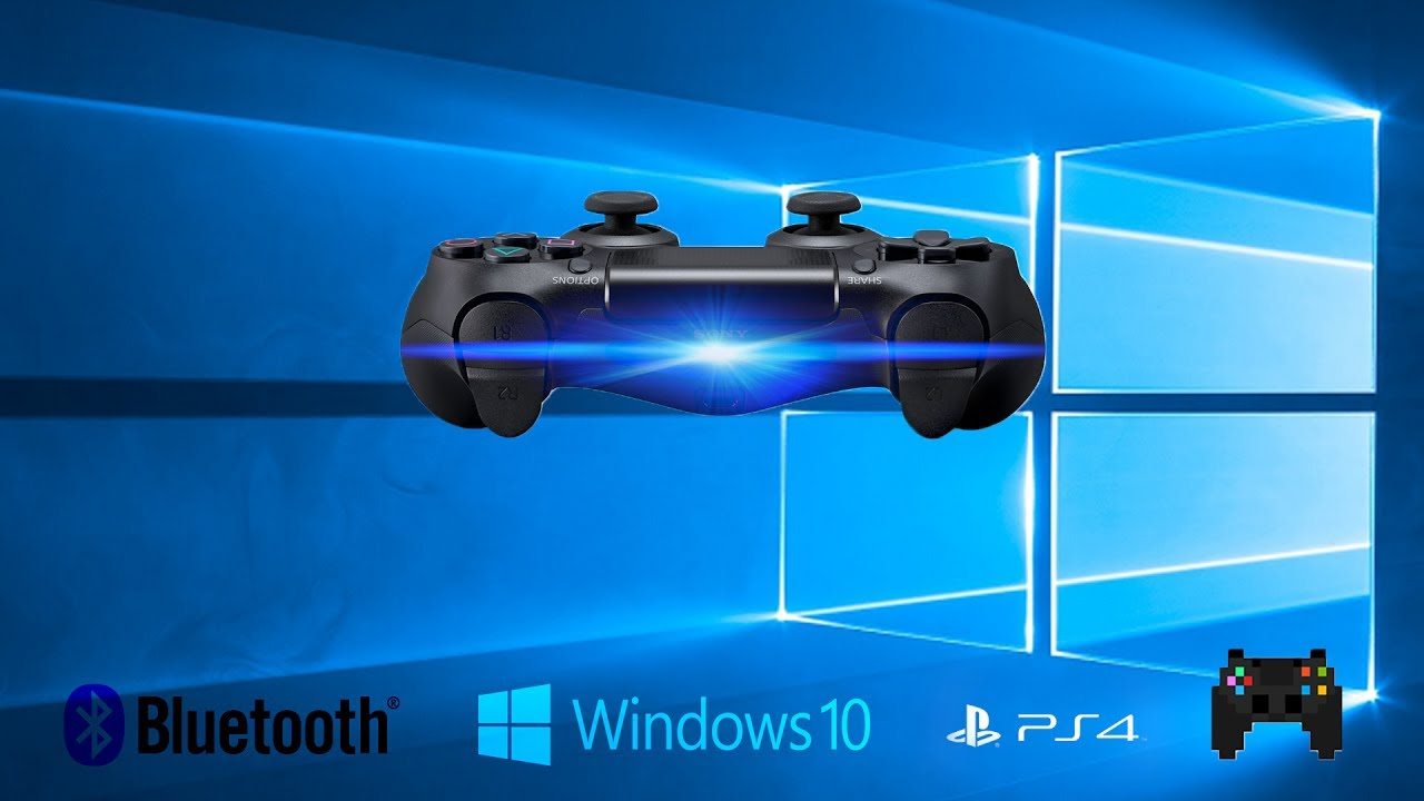 how to connect ps4 controller windows 10