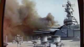 USS Wisconsin BB 64 16 inch guns