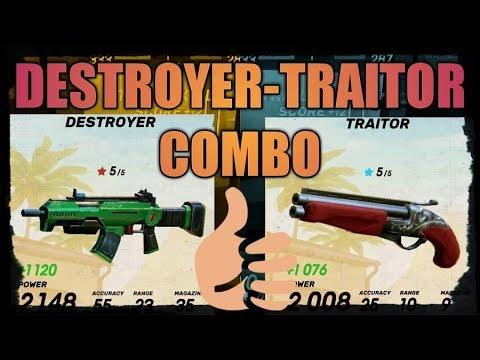 GOB(F2P)||DESTROYER-TRAITOR COMBO GAMEPLAY||LEVEL 39+