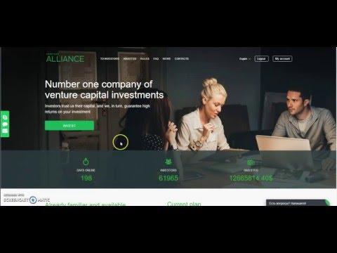 Venture alliance ESPAÑOL – 25$,50$,100$ diarios? SI SE PUEDE