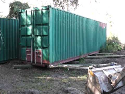 Moving A 7200lbs Shipping Container The Homesteadprepper