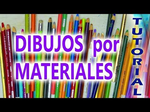 CONOCE  🖐 5 TÉCNICAS DE DIBUJO ✏ Según los materiales utilizados