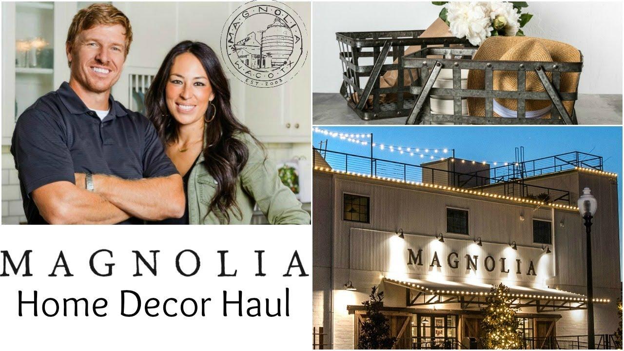 Magnolia Farmhouse Decor Huge Haul Chip And Joanna Hgtv Fixer Upper Waco Texas