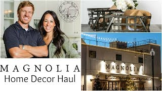 MAGNOLIA FARMHOUSE DECOR HUGE HAUL | CHIP and JOANNA | HGTV FIXER UPPER