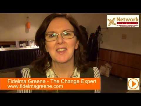 Why Join Network Dublin? NetDublin Benefits with Fidelma Greene, 2012 President