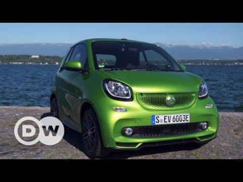 Fahrspaß: Smart Fortwo Cabrio Electric Drive | DW Deutsch