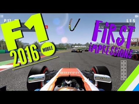 F1 2016 MOBILE GAMEPLAY! - BEST MOBILE RACING GAME ?!