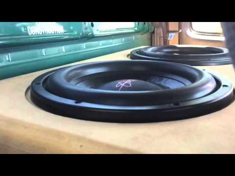 "Serious Yota Flex - 2 SMD Mini 12"" Subs testing new Psyph Morrison tracks for BASS Worthiness"