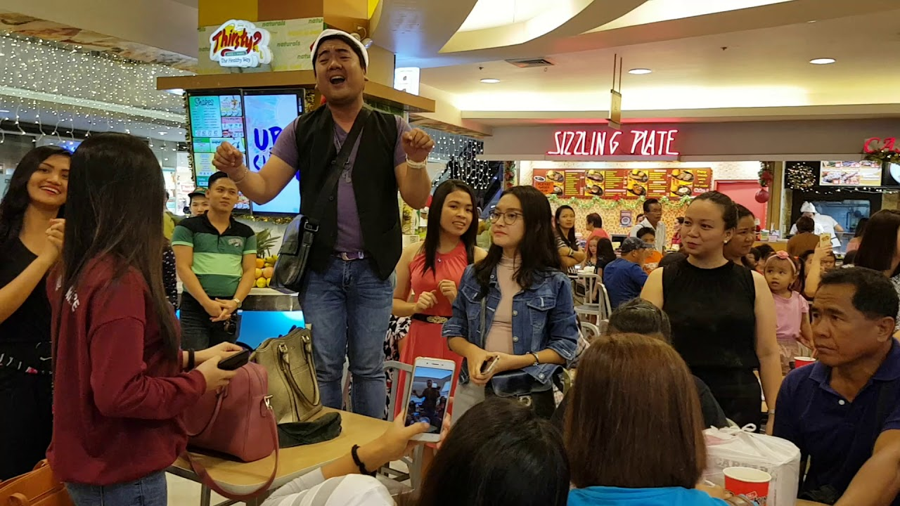 Sm Iloilo Christmas Greetings At Food Court Youtube