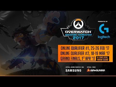 Overwatch Singapore Tournament 2017 - Finals