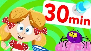 Would You Eat A Spider? Food fight, apples & bananas & Little Miss Muffet! by Little Angel