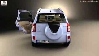 Chery Tiggo (T11) with HQ interior 2010 by 3D model store Humster3D.com