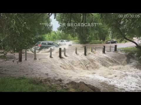8-16-16 Colorado Springs, CO Severe Storms, Flooding