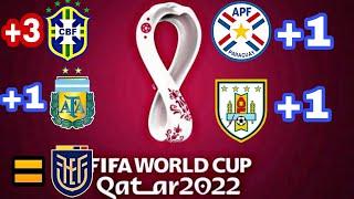 Tabla de posiciones eliminatorias Qatar 2022, Brasil primero ¿tiene chances Perú? Colombia despierta