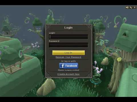 Runescape Hd2011 Animated Login Screen Youtube