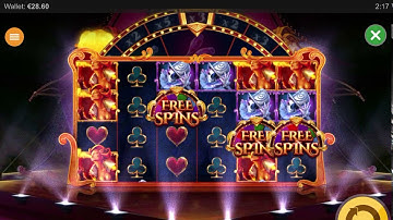 CIRQUE DE LA FORTUNE!! MEGA WIN!! Online slot game