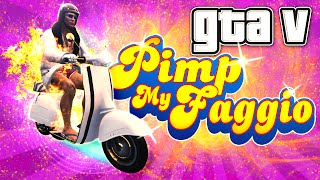 GTA 5 Online Funny Moments  - Pimp My Faggio! (Special)