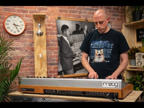 Moog One: Deep Dive - Part 2 (Live from the Moog Factory)