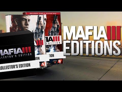 Mafia 3 - All The Editions (Standard, Deluxe & Collector